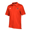 Miami Hurricanes adidas 2018 Climalite Polo - Orange
