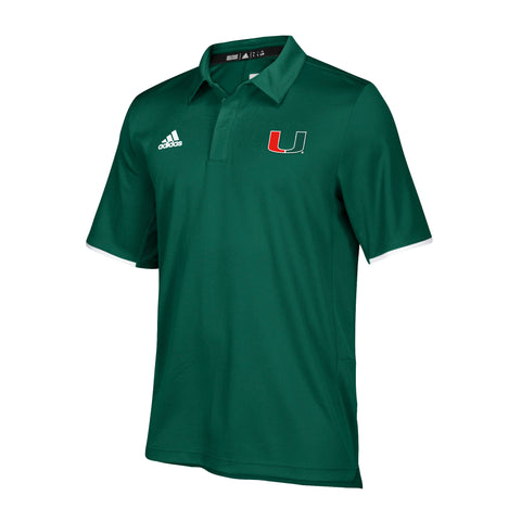 Miami Hurricanes adidas 2018 Youth Sebastian Turnover Chain Sweatshirt Hoodie - Black