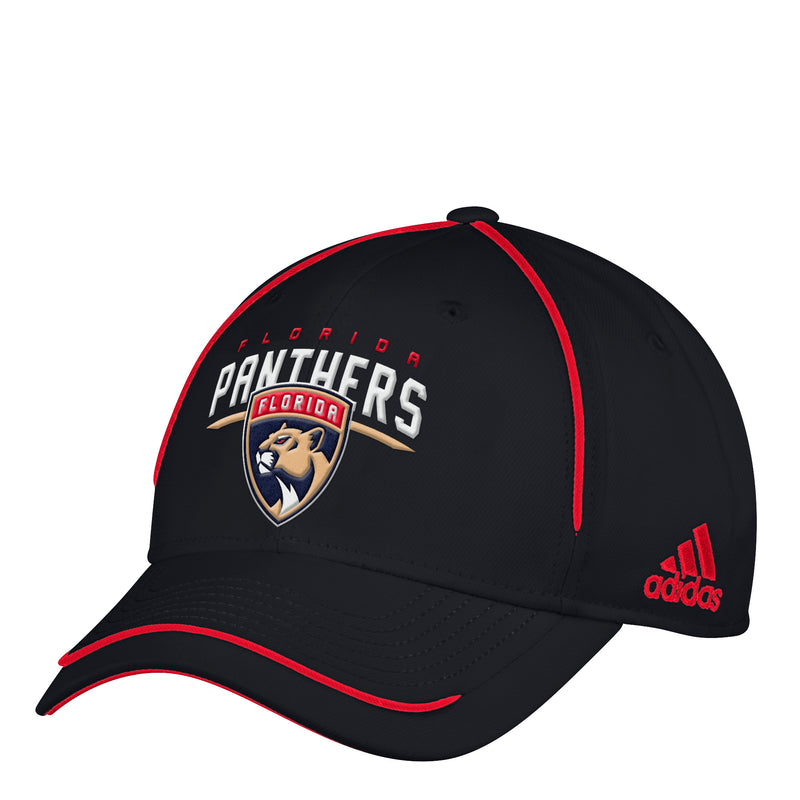 Florida Panthers adidas Structured Adjustable Hat - Black