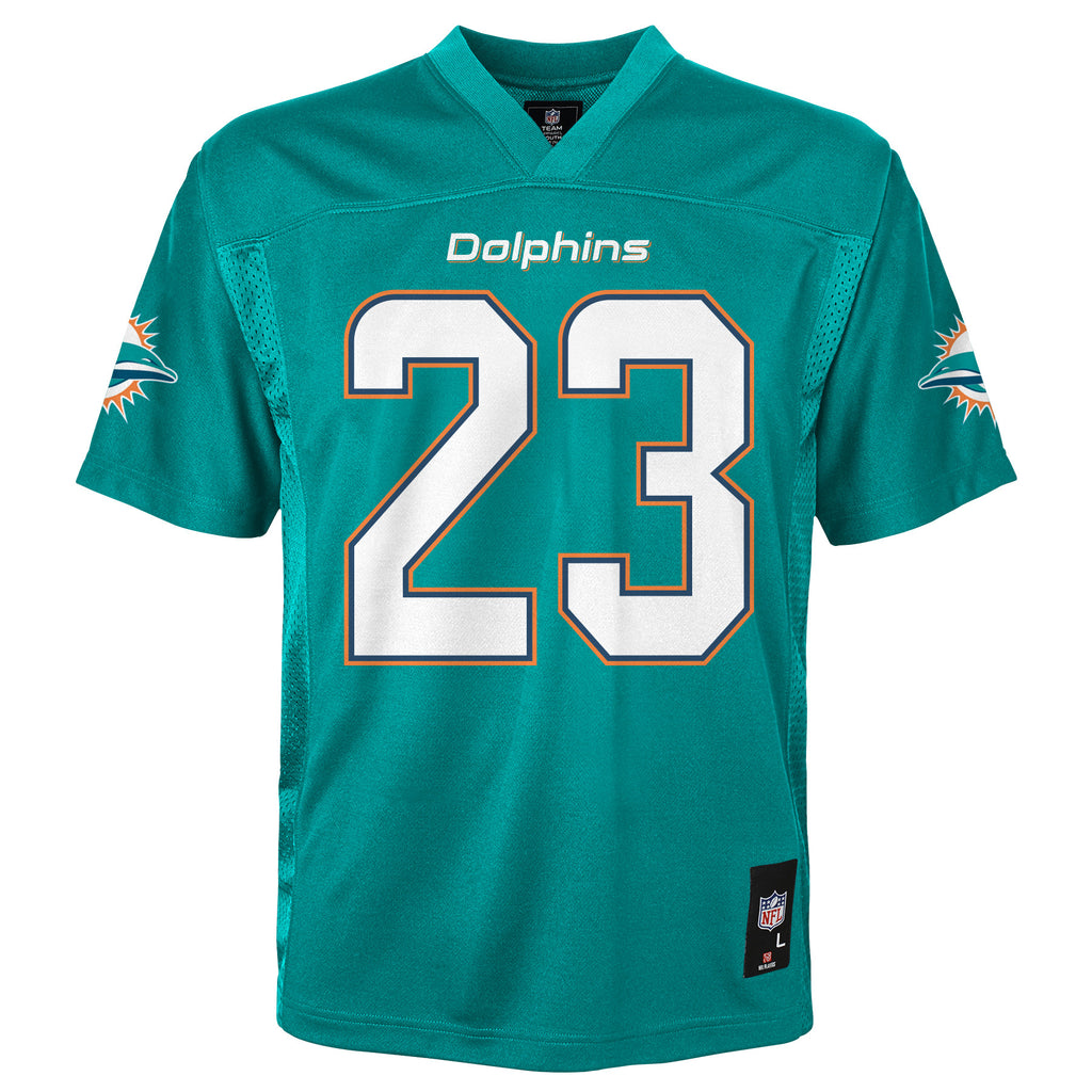 Miami Dolphins Outerstuff Youth Ajayi #23 Deluxe Jersey - Aqua