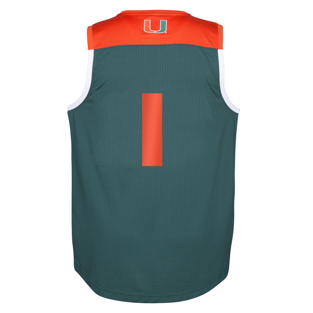 Miami Hurricanes 2016 March Madness Basketball Jersey - CanesWear at Miami FanWear Basketball Jerseys Adidas CanesWear at Miami FanWear