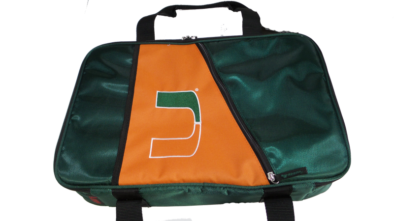 Miami Hurricanes Casserole Caddy - CanesWear at Miami FanWear Tailgate Gear Logo CanesWear at Miami FanWear