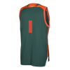 Miami Hurricanes adidas 2017 March Madness Basketball Jersey - Green