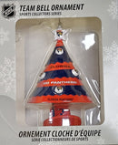 Florida Panthers Team Bell Ornament