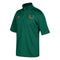 MIami Hurricanes Coaches 1/4 Zip S/S Pullover Shirt - Green