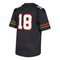 Miami Hurricanes adidas Premier Football Jersey #18 - Black