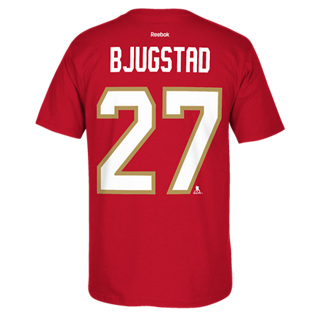 Florida Panthers Reebok Bjugstad #27 T-Shirt - CanesWear at Miami FanWear Men's T-Shirt Reebok CanesWear at Miami FanWear