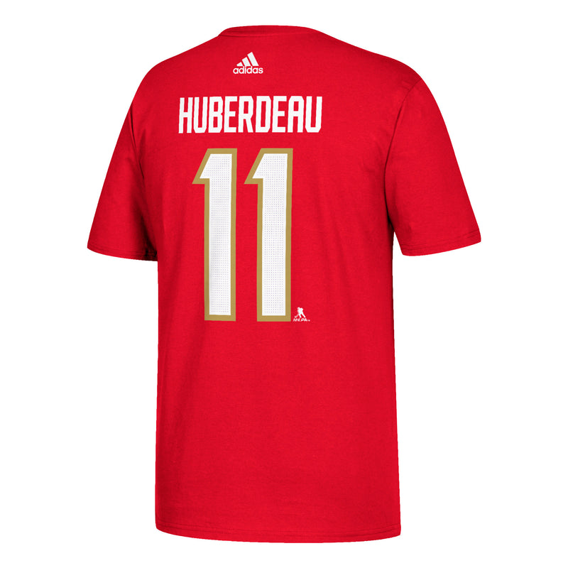 Florida Panthers adidas Red Huberdeau #11 T-Shirt