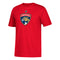 Florida Panthers adidas Huberdeau #11 T-Shirt -Red