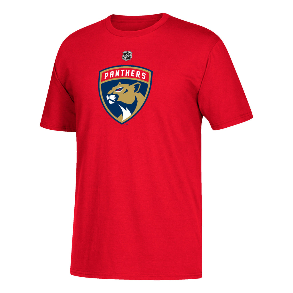 Florida Panthers adidas Red Trocheck #21 T-Shirt