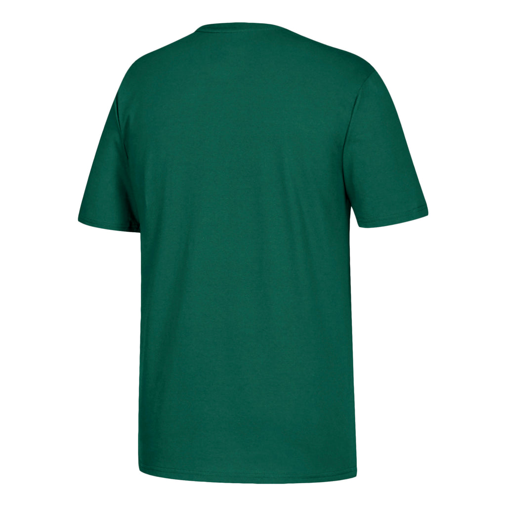 Miami Hurricanes adidas 2019 Baseball Miami Script Go-To T-Shirt - Green