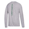 Miami Hurricanes adidas Youth Sideline Sequel L/S Climalite T-Shirt - Gray