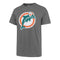 Miami Dolphins '47 Brand Fieldhouse Legacy Throwback T-Shirt - Slate Grey