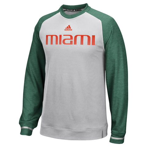 Miami Hurricanes adidas 2018 Baseball Old English Go-To Performance T-Shirt