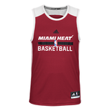 Miami Heat adidas Sleeveless Practice Tank Top - CanesWear at Miami FanWear Men's T-Shirt Adidas CanesWear at Miami FanWear