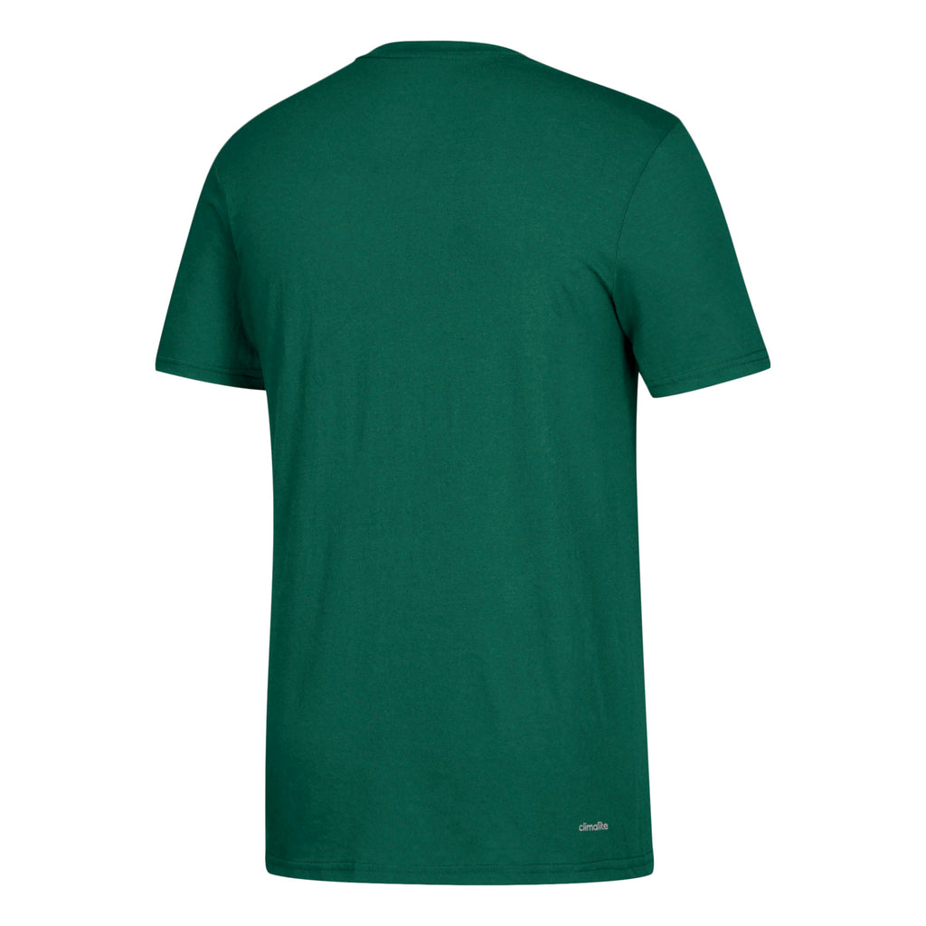 Miami Hurricanes adidas 2018 New Arch Go-To Performance T-Shirt -Dark Green