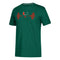 Miami Hurricanes adidas Performance Weightlifting T-Shirt - Green