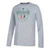Miami Hurricanes adidas 2018 Sideline Pop Long Sleeve - Gray