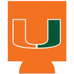 Miami Hurricanes Can Hugger - Orange - CanesWear at Miami FanWear Tailgate Gear JayMac Sports CanesWear at Miami FanWear