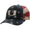Miami Hurricanes Top of the World 4th of July Adjustable Trucker Hat