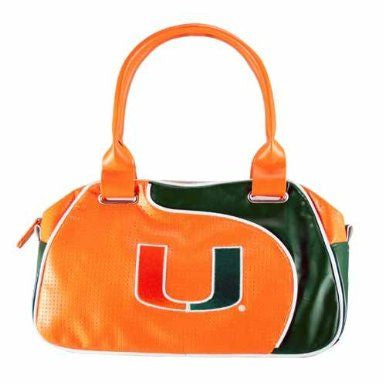 Miami Hurricanes Bowler Purse