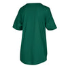 Miami Hurricanes adidas Women's Ibis Droptail T-Shirt - Green