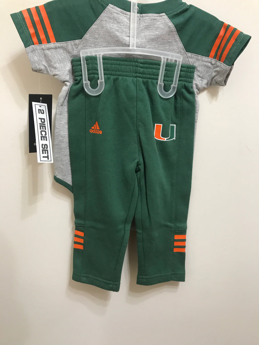 Miami Hurricanes Onesie Pants Set- Miami Rules