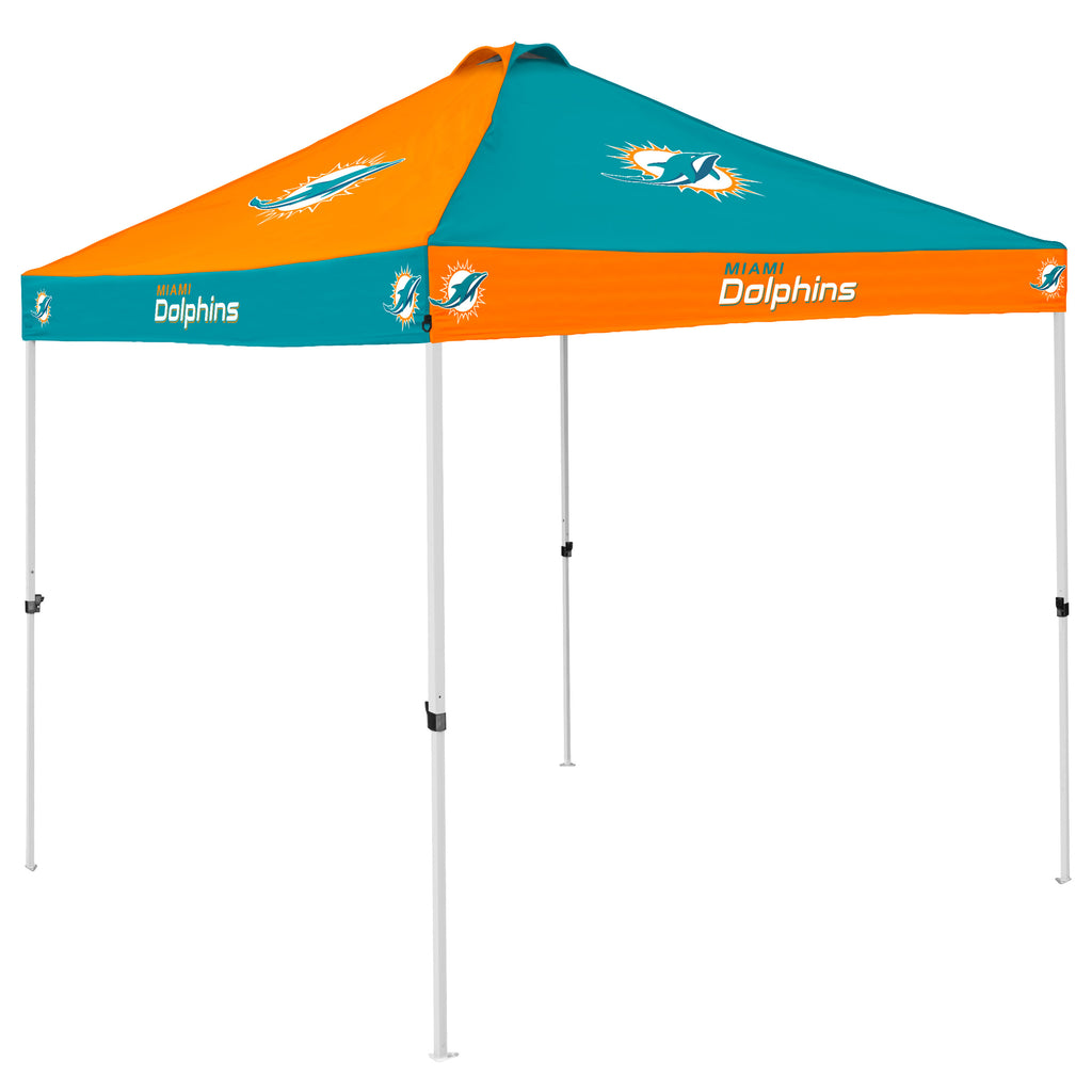 Miami Dolphins Checkerboard Tailgating Tent