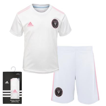 Inter Miami CF MLS adidas Youth Replica 2-Piece Jersey Set - White