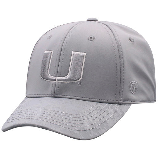 Miami Hurricanes Reflective One Fit Two-Tone