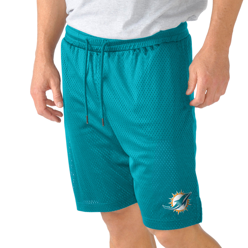 Miami Dolphins Player Shorts with 3-Pockets - CanesWear at Miami FanWear Men's Shorts G-III CanesWear at Miami FanWear