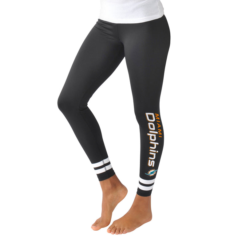 Miami Dolphins Women's Leggings - CanesWear at Miami FanWear Women's Apparel G-III CanesWear at Miami FanWear