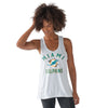 Miami Dolphins Women's Performance Tank - White - CanesWear at Miami FanWear Women's Apparel G-III CanesWear at Miami FanWear