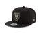 Inter Miami CF MLS New Era Secondary Logo Adjustable Snapback Hat - Black