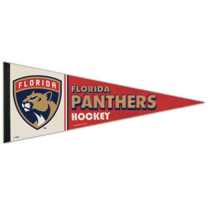 Florida Panthers Premium Pennant Roll it