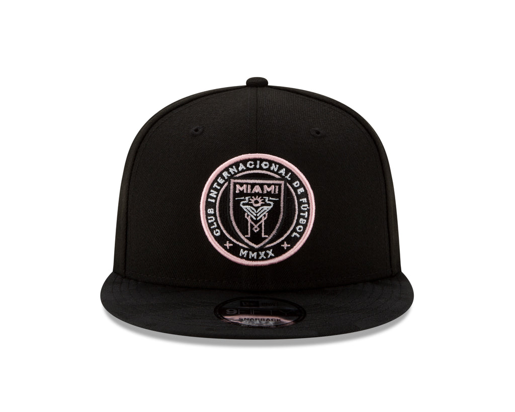 Inter Miami CF New Era 9Fifty Sharp Snapback Hat - Black