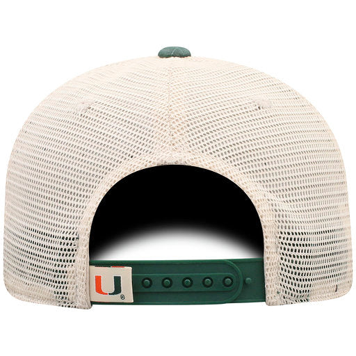 Miami Hurricanes Raggs Adjustable Two-Tone- Top of the World