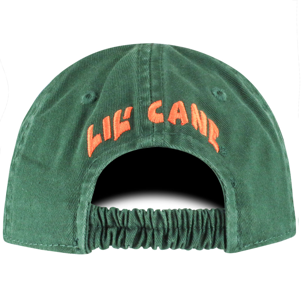 Miami Hurricanes Top of the World 2018 Infant Mini Me Snapback Green Hat