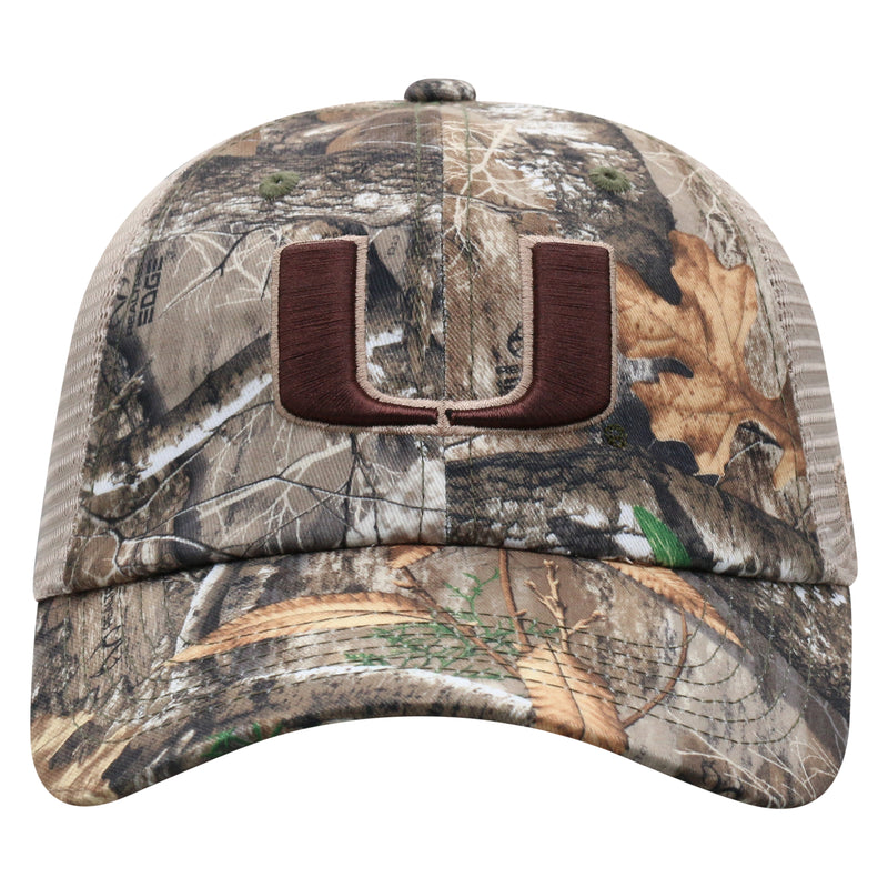 Miami Hurricanes Top of the World Acorn Adjustable Two-Tone