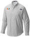 Miami Hurricanes Columbia Super Tamiami L/S Shirt - Black