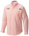 Miami Hurricanes Columbia Super Tamiami L/S Shirt - Orange