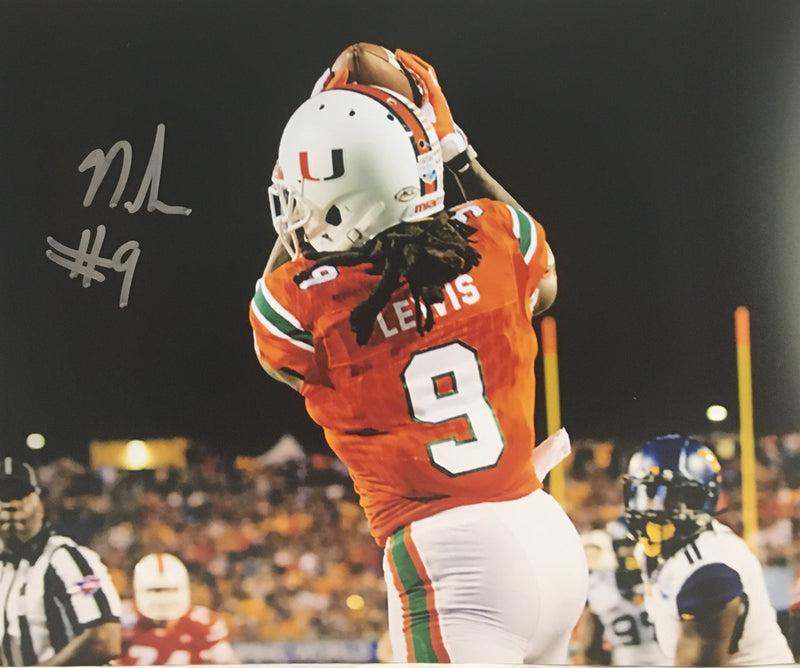 Autographed Malcolm Lewis Photo - 8x10