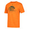 Miami Hurricanes adidas Braxton Berrios Tri-Blend Helmet T-Shirt - Orange