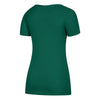Miami Hurricanes adidas 2018 Women's Subtle Shine Tri-Blend Cap Sleeve V-Neck T-Shirt - Green