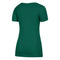 Miami Hurricanes adidas Women's Subtle Shine Tri-Blend Cap Sleeve V-Neck T-Shirt - Green