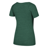 Miami Hurricanes adidas Women's Ibis V-Neck - Green