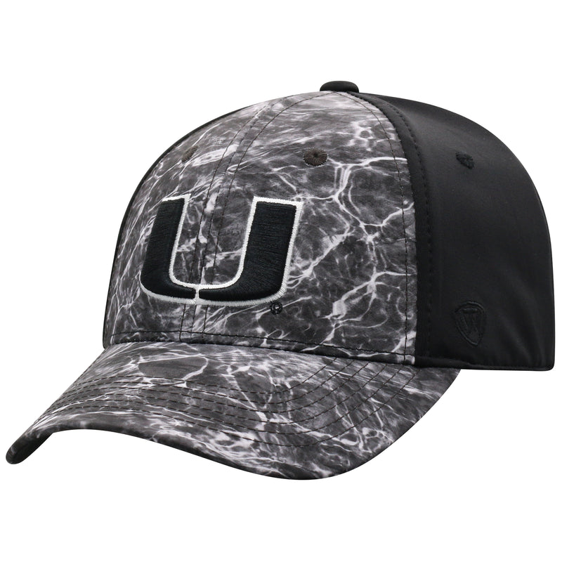 Miami Hurricanes Top of the World BlackSea One Fit Two-Tone