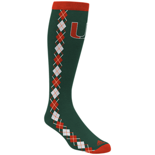 Miami Hurricanes adidas Women's Knee High Socks