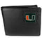 Miami Hurricanes Leather Bi-fold Wallet