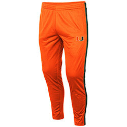 Miami Hurricanes 2019 MEN'S DISCO STU TRACK PANT - ORANGE